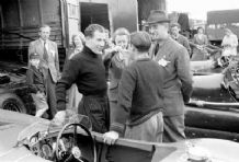 Stirling Moss and Tommy Wisdom Turnberry 1952